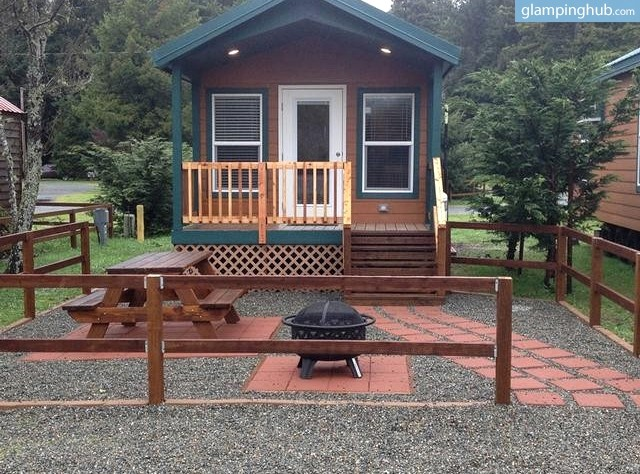 Luxury camping in redwoods crescent city for Air canada pet in cabin