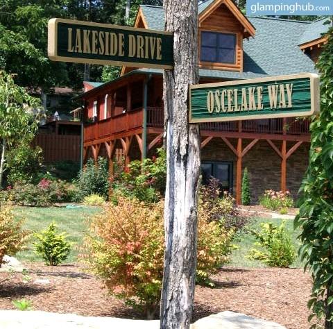 Lakefront cabin rental near asheville for Cabin rentals near asheville nc
