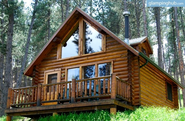Log cabin rental in the black hills south dakota for Cabine black hills south dakota
