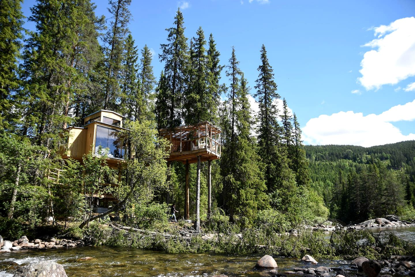 Tree Houses (Austbygd, Eastern Region, Norway)
