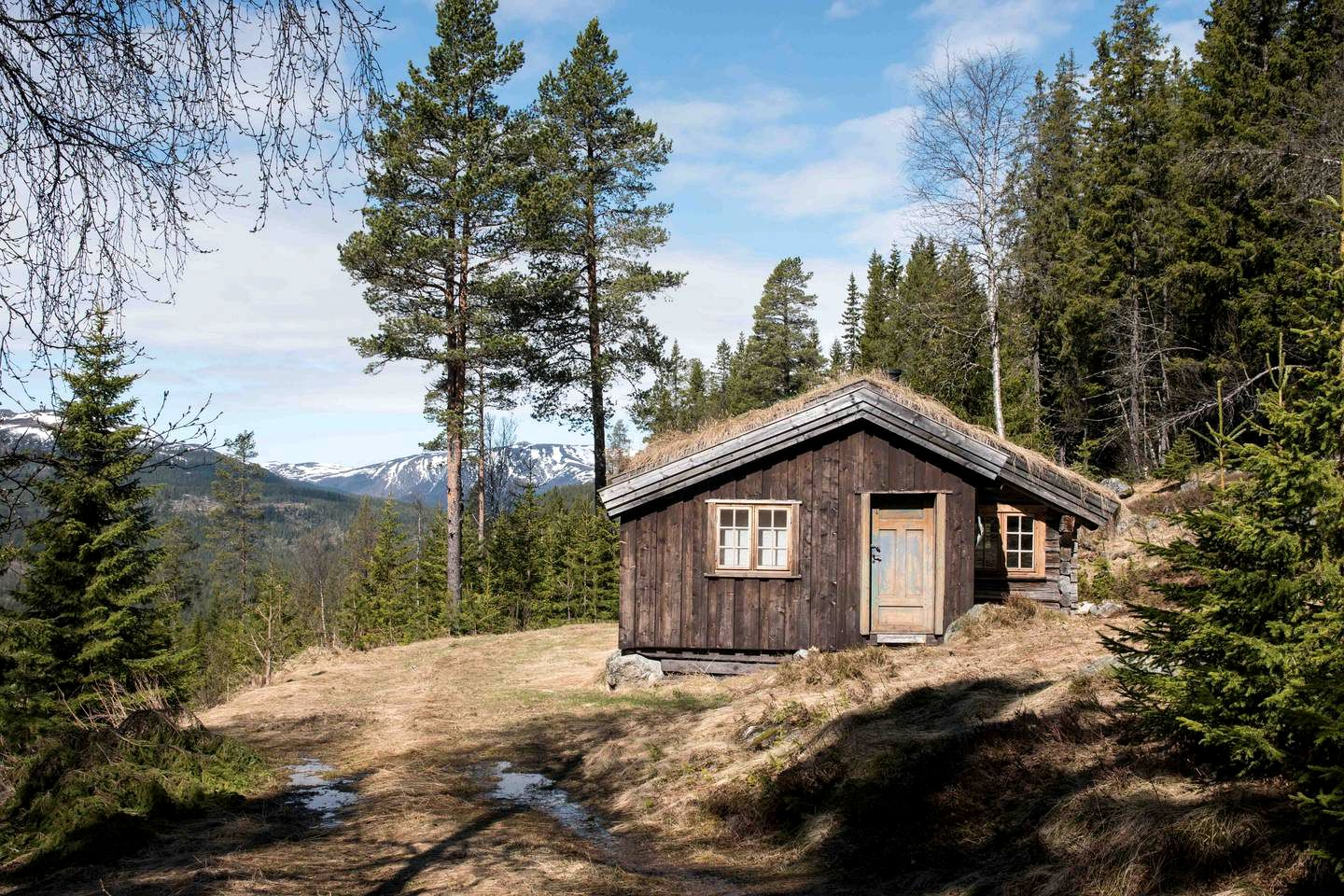 Secluded Cabin Rental in Tessungdalen Forest, Norway