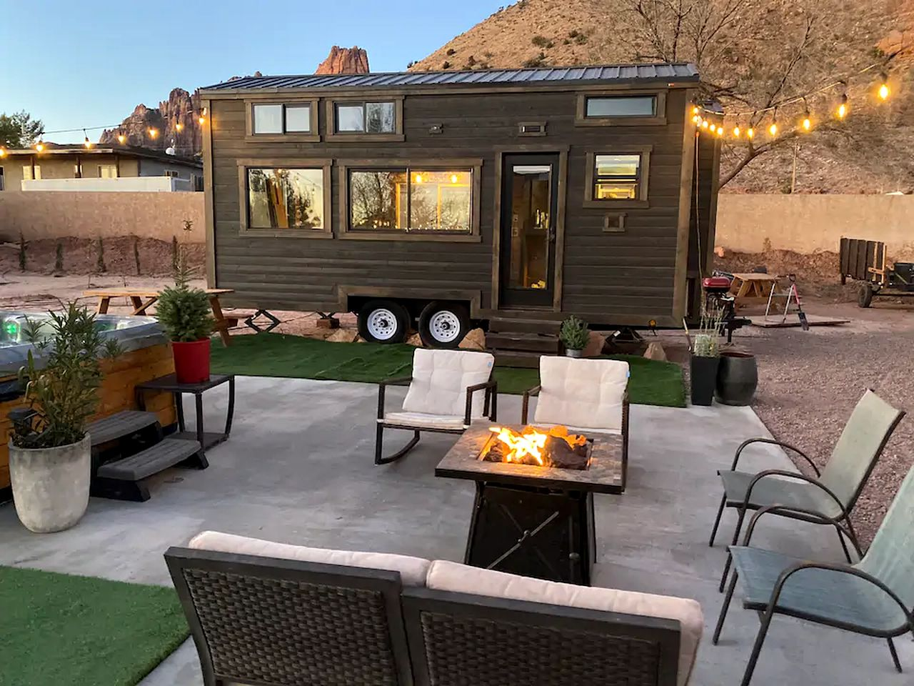 Tiny house for glamping in Utah