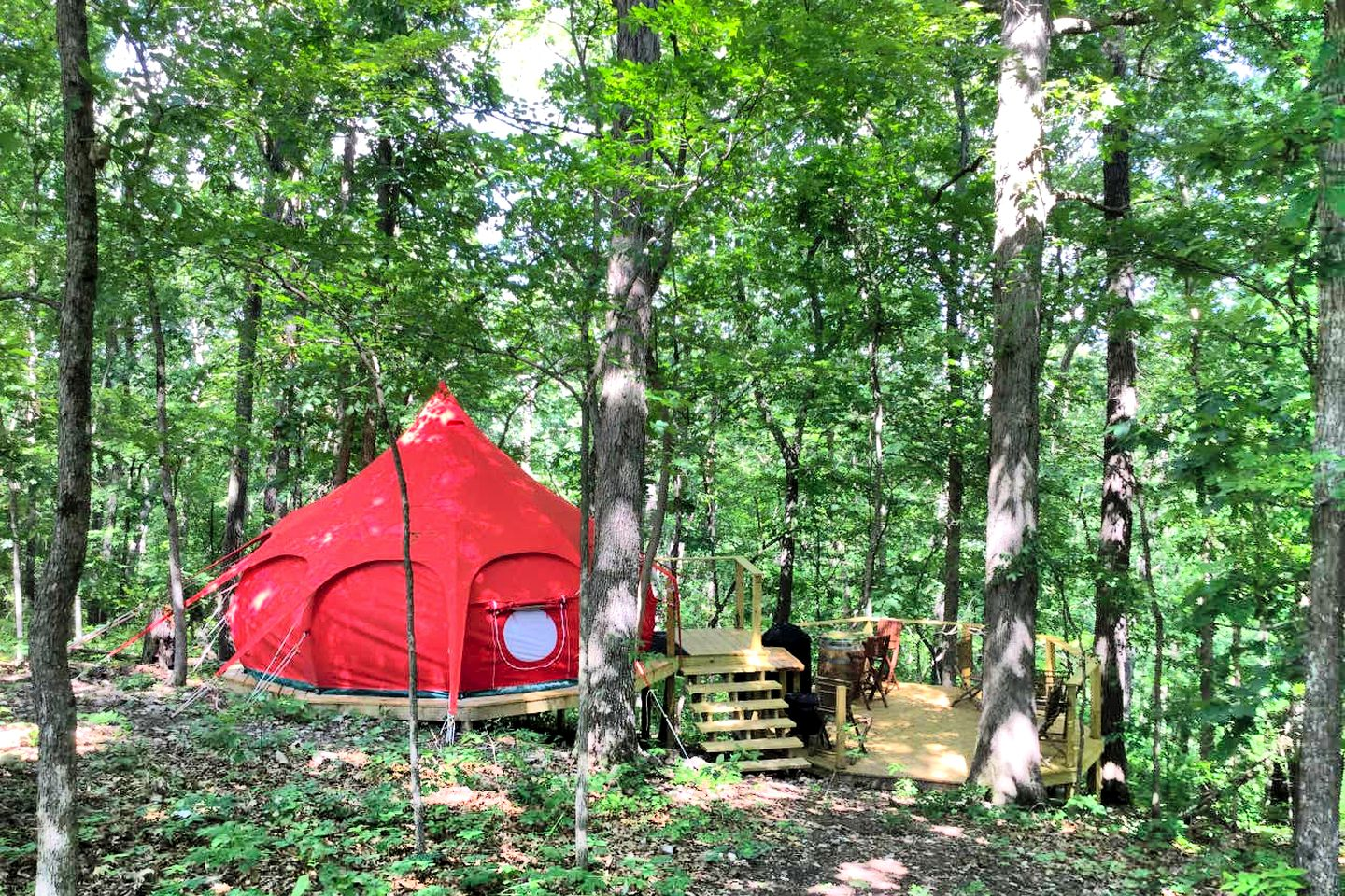 This Cassville retreat is great for glamping in Missouri