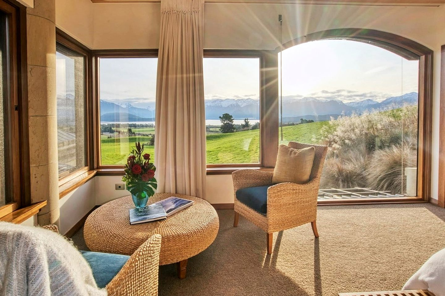 This Manapouri accommodation is ideal for romantic getaways, South Island