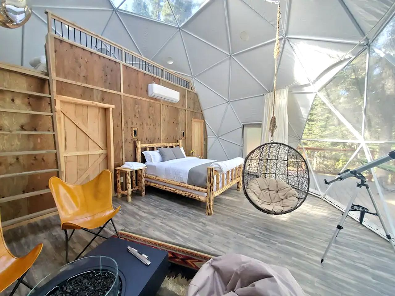 This dome rental is the ultimate Glacier National Park getaway.