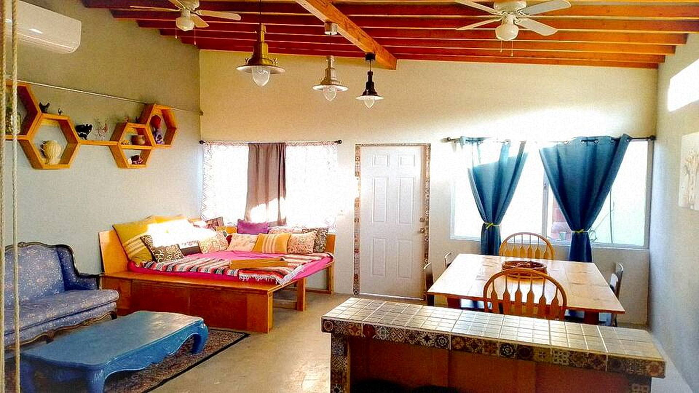 This lovely Baja California vacation rental is great for beach getaways.