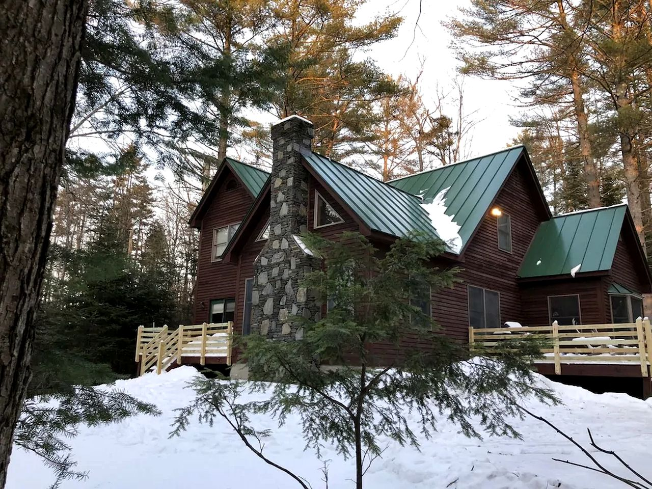 Chalet rental for a ski vacation in Vermont