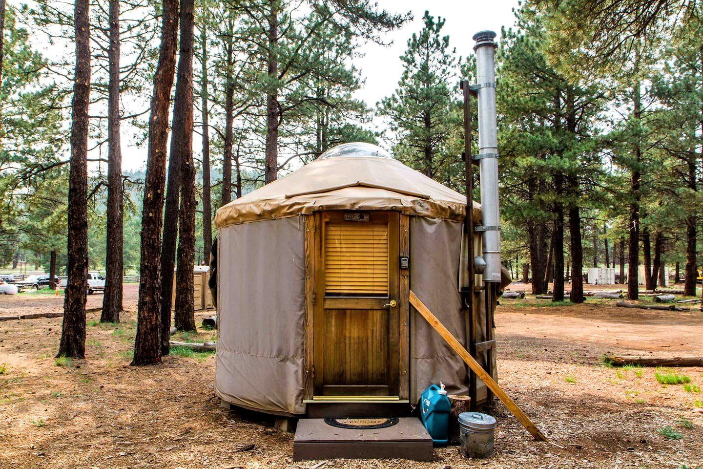 This Flagstaff yurt is great for glamping in Arizona