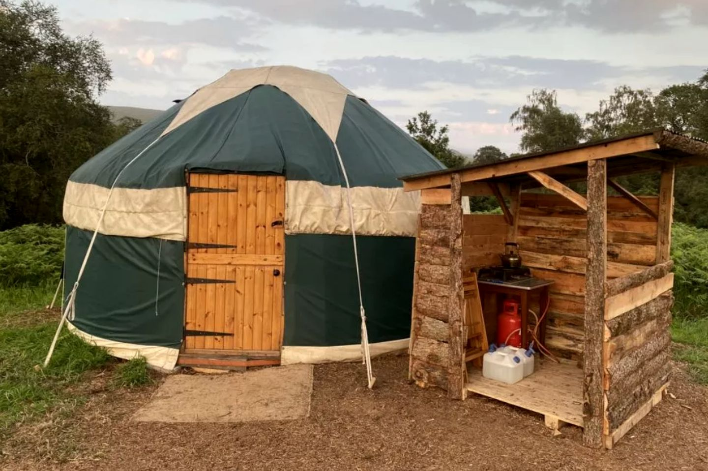 This Pennines accommodation is ideal for glamping in England