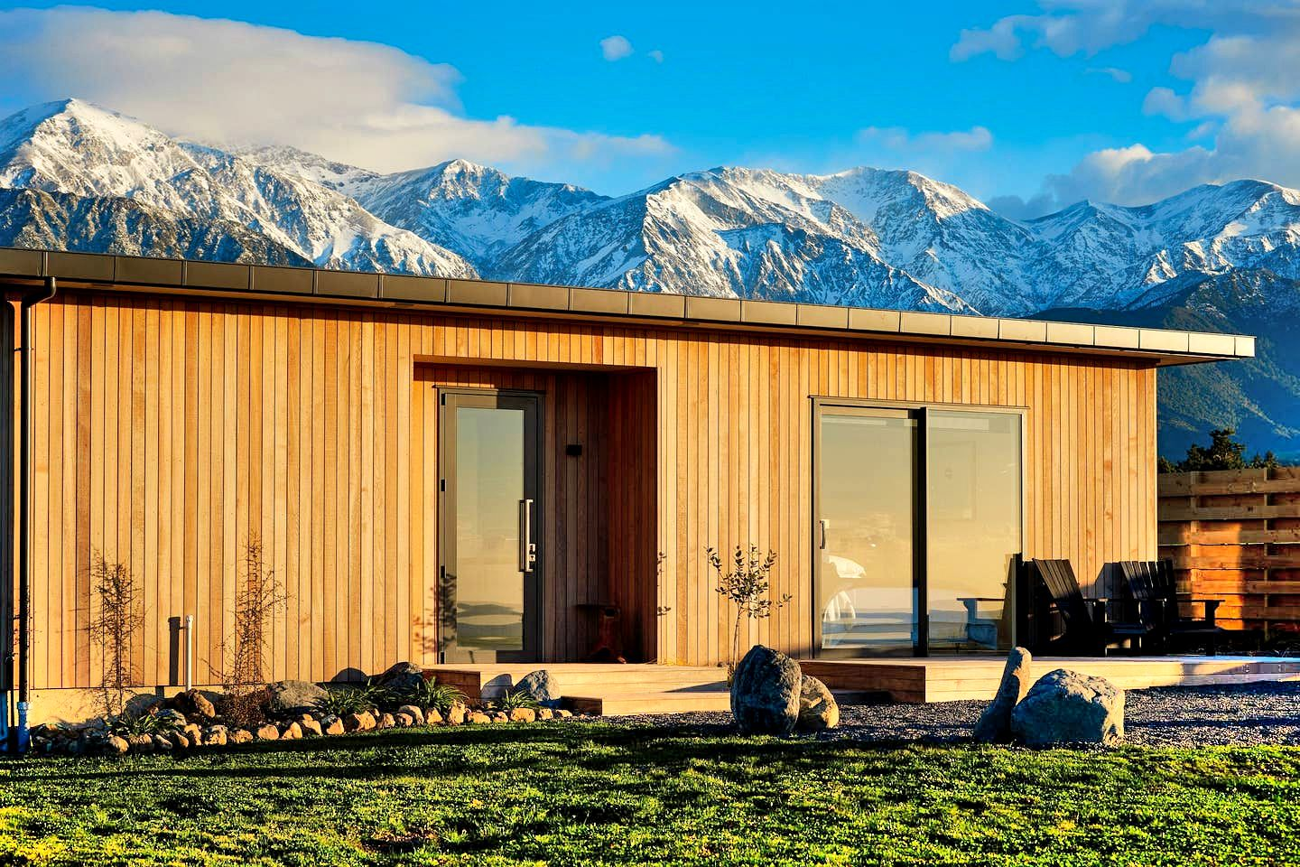This Hapuku accommodation is perfect for a romantic getaway, South Island