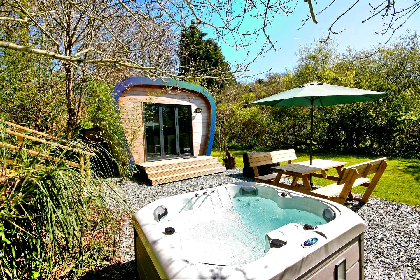 This Devon glamping pod is great for a holiday in England