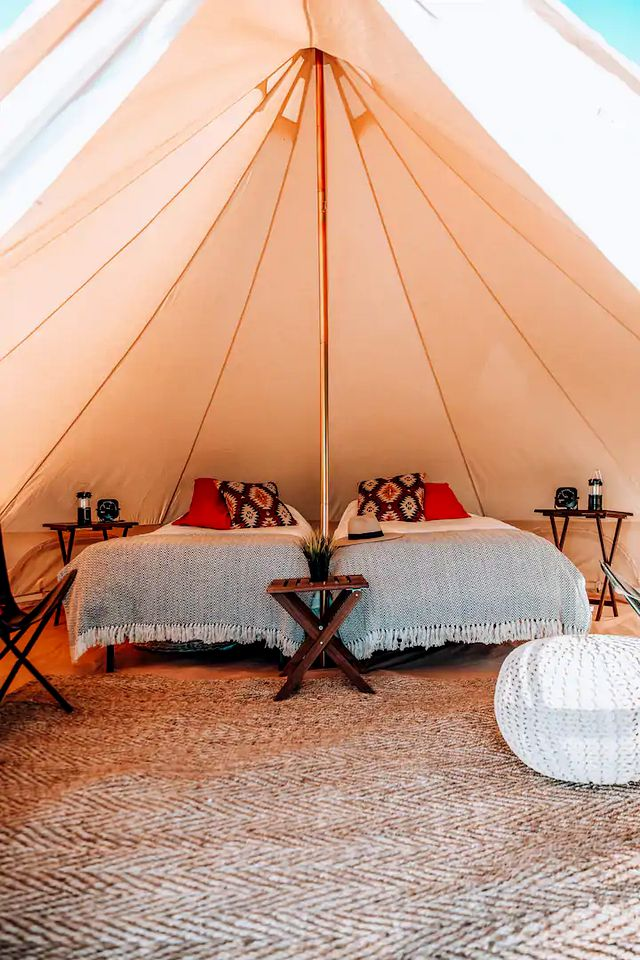 Grand Canyon tent for glamping in Arizona
