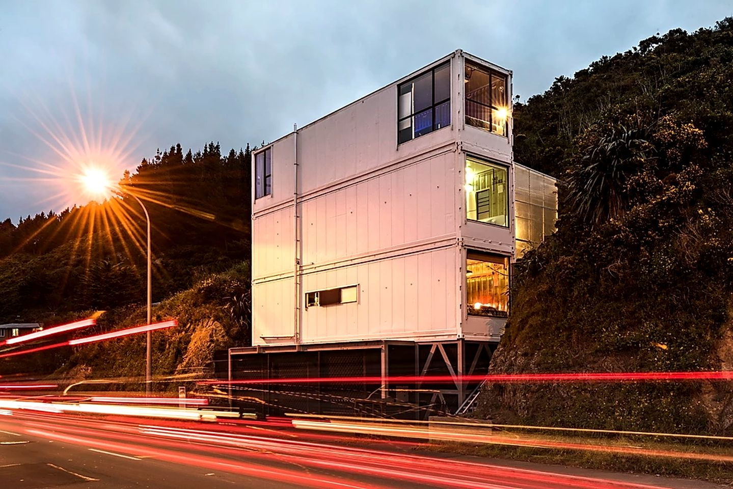 Containers (Wellington, North Island, New Zealand)