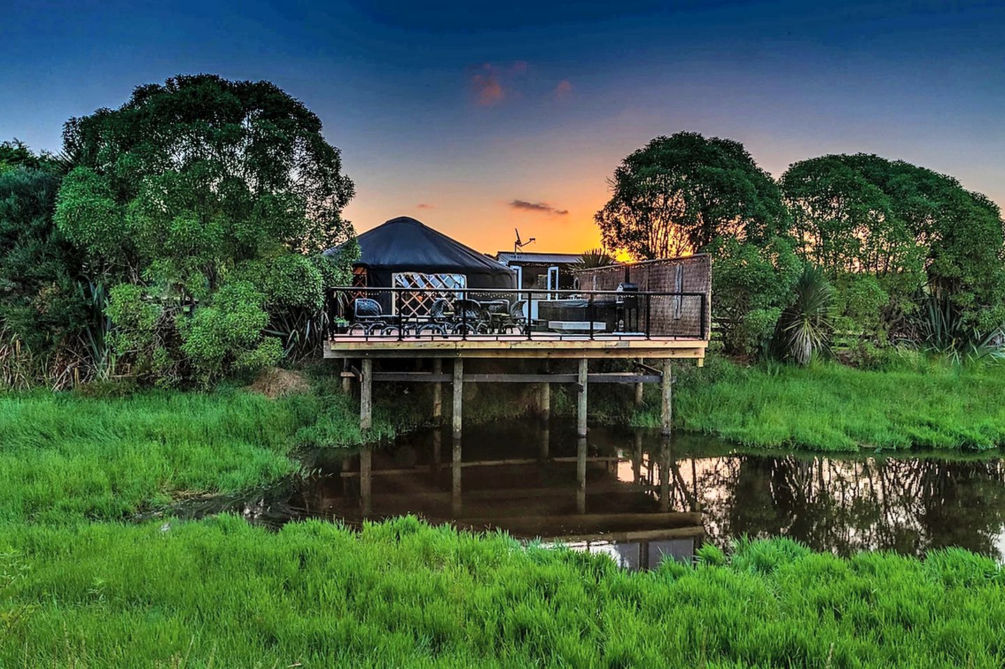 This Bay of Plenty accommodation is ideal for glamping, North Island