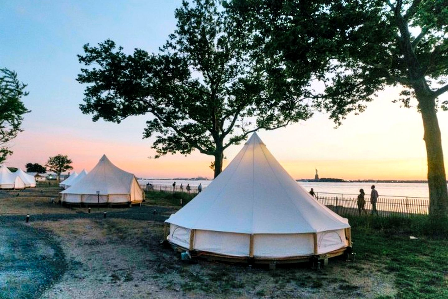 This unique Governors Island retreat is ideal for glamping in New York City
