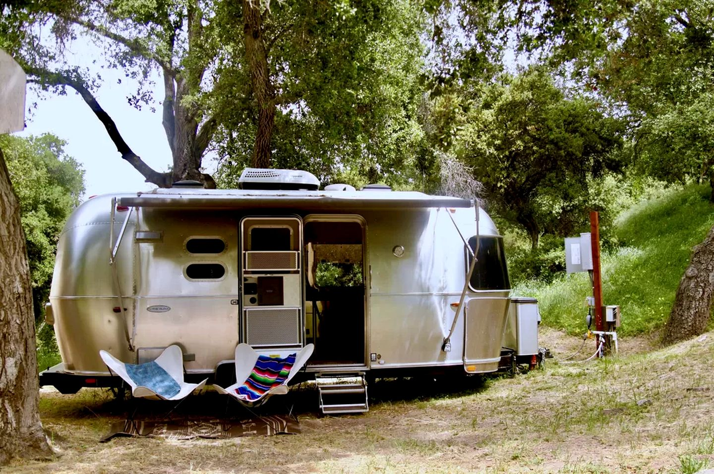 Airstream rental that's perfect to go glamping in California