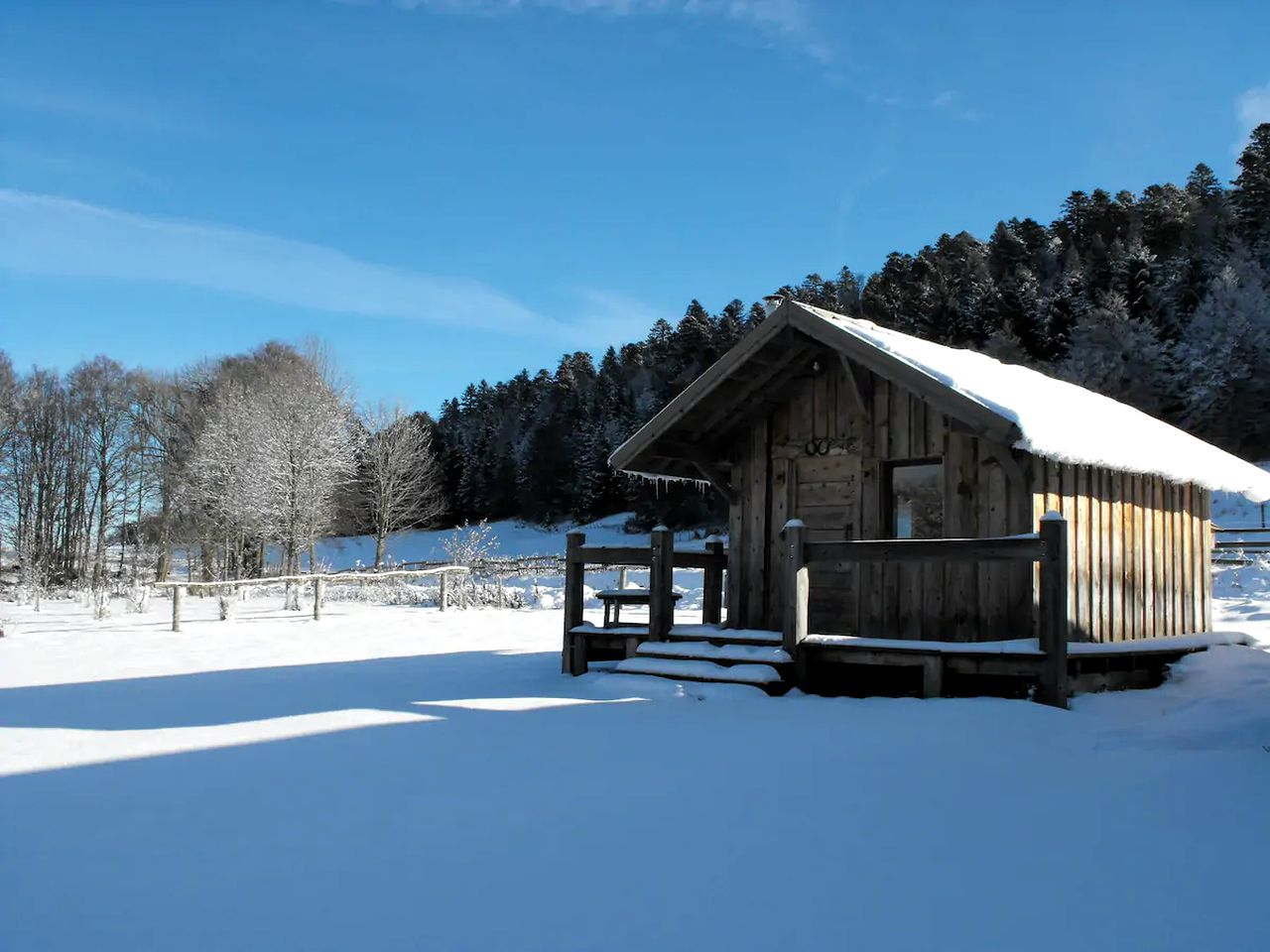 This lovely chalet in France is ideal for a great getaway in Vercors Regional Natural Park