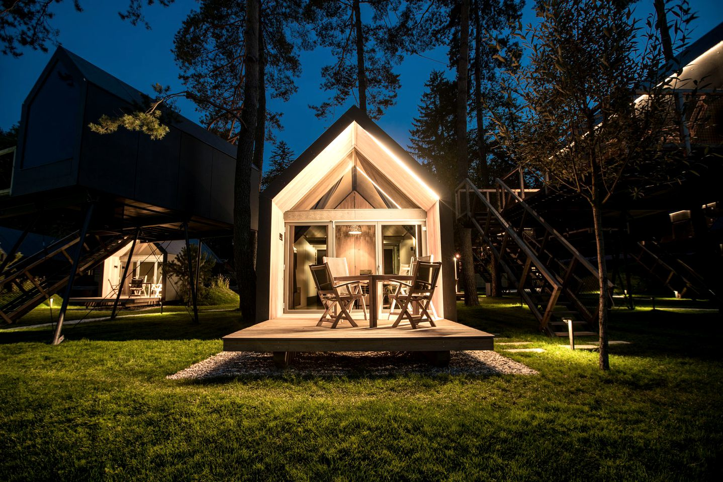Cabin rental for glamping in Slovenia