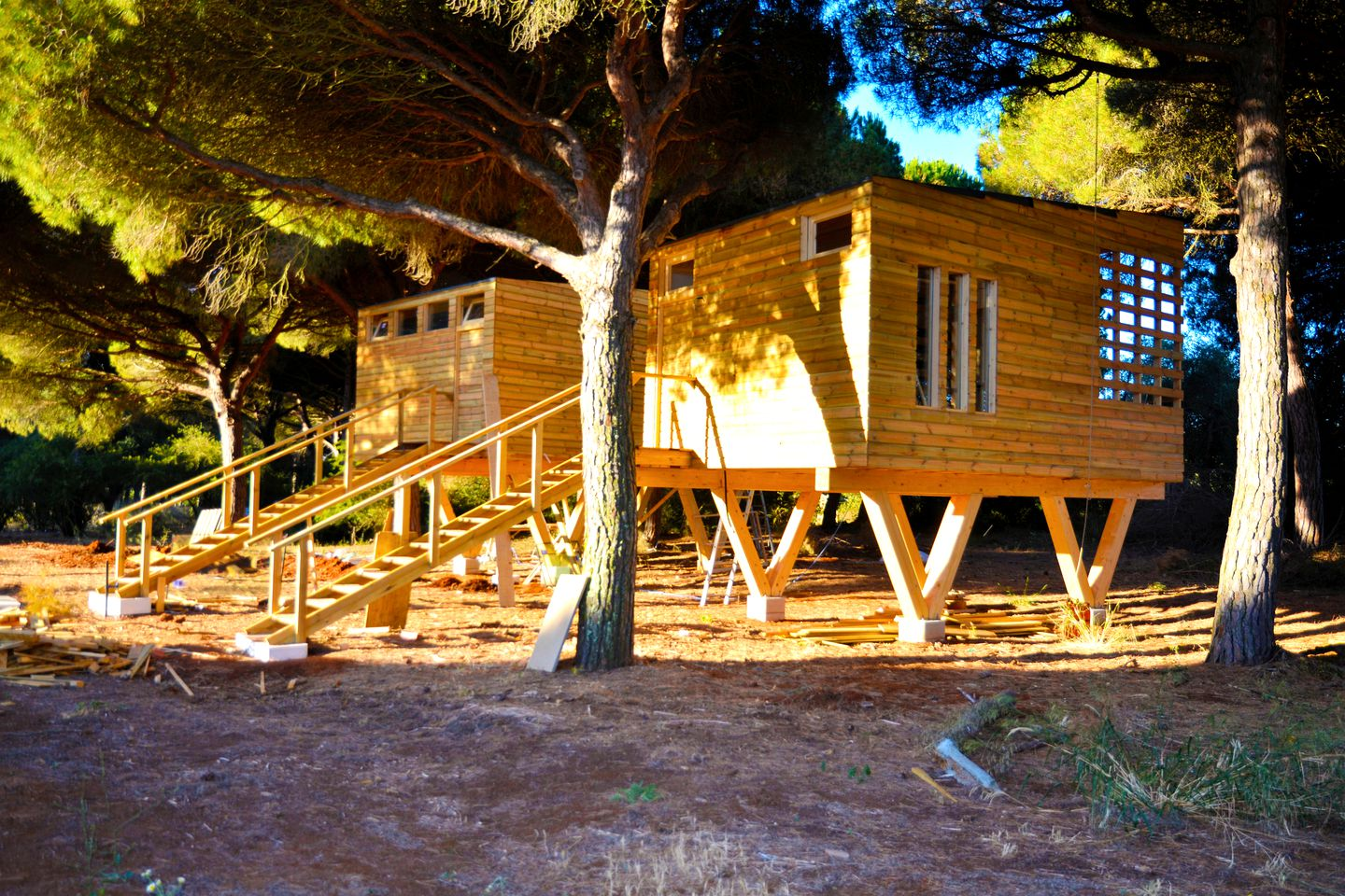 Tree Houses (Vejer de la Frontera, Andalusia, Spain)
