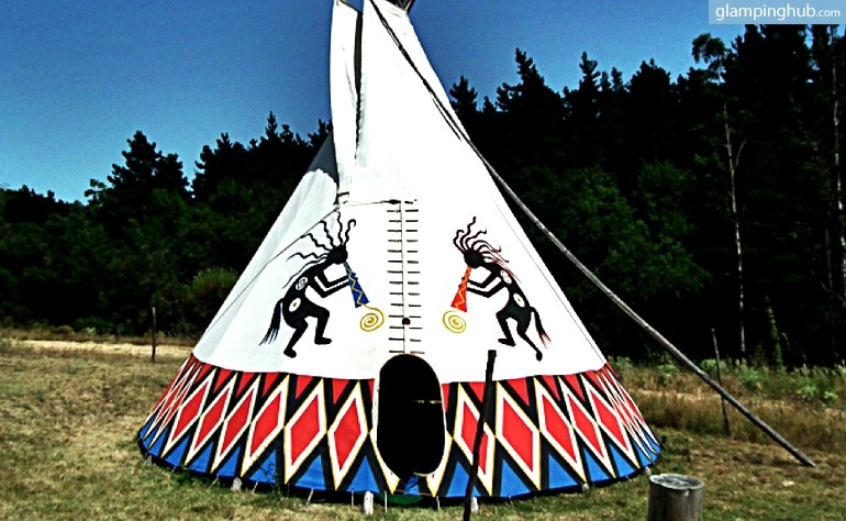Native American Tipis Spain