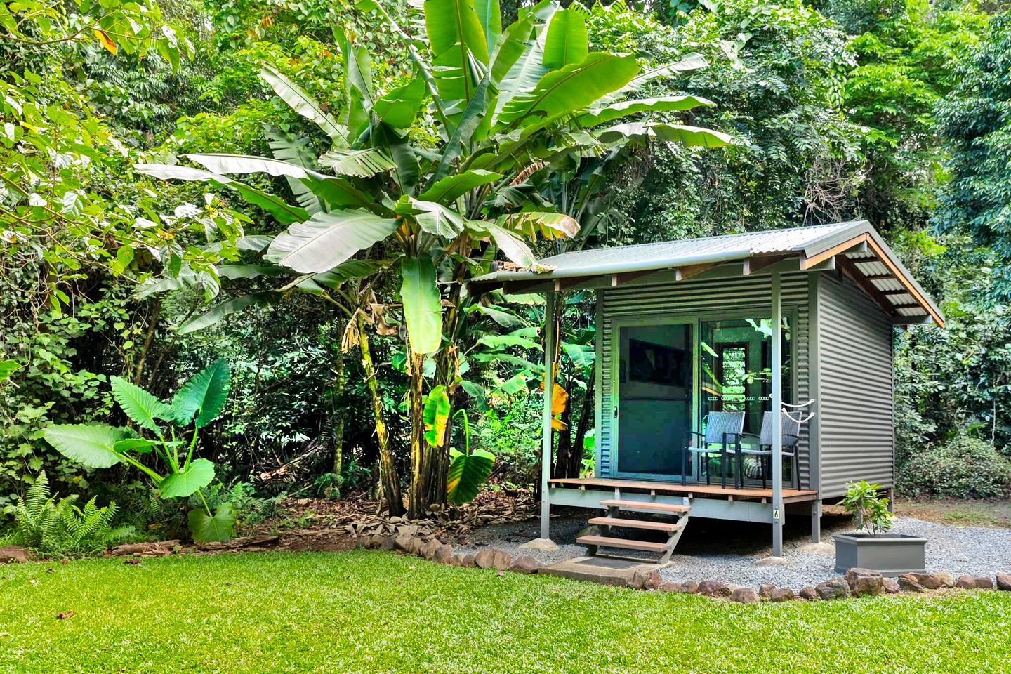 This tropical Cape Tribulation accommodation is ideal for glamping in Queensland