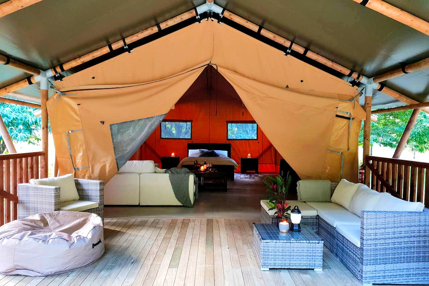 This gorgeous Rotorua accommodation is perfect for luxury glamping, North Island