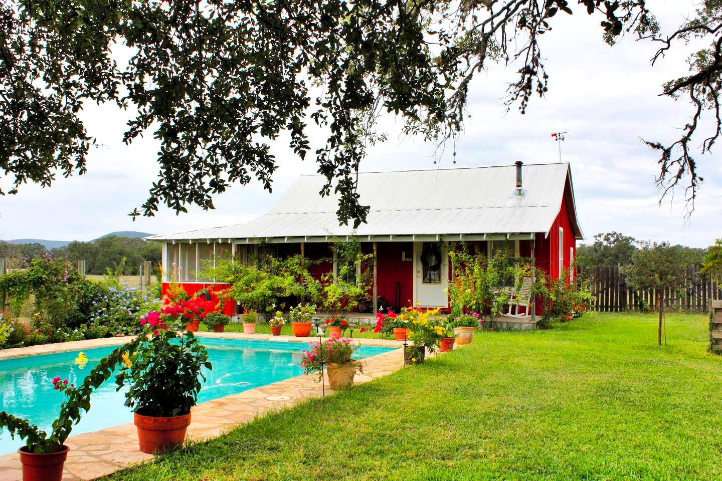 This Texas Hill Country vacation rental is ideal for getaways near San Antonio