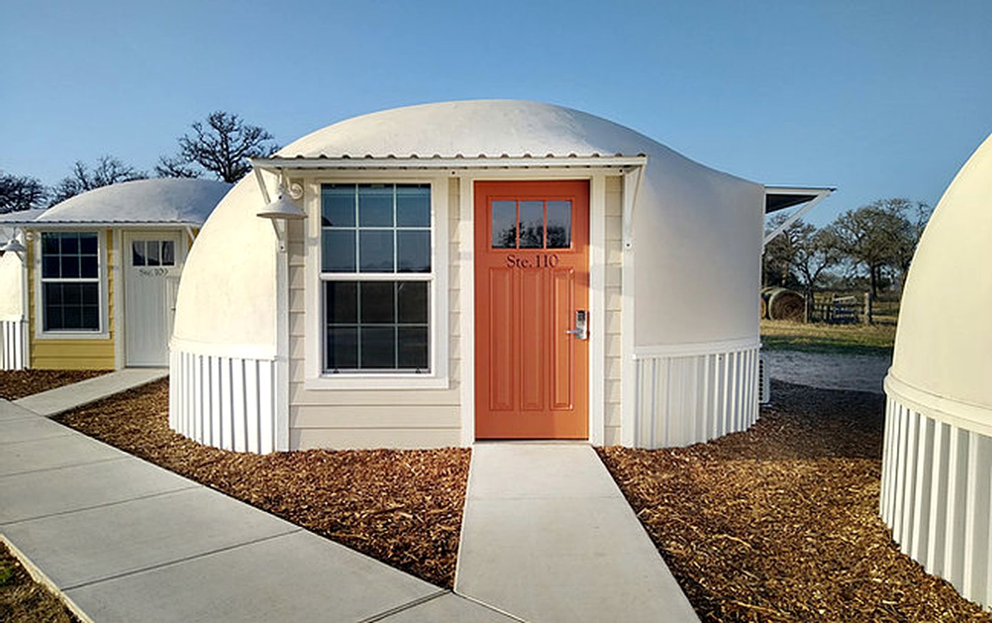Dome accommodation for glamping near Houston