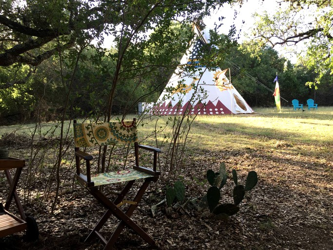Bell Tent Rental Glamping Near San Antonio