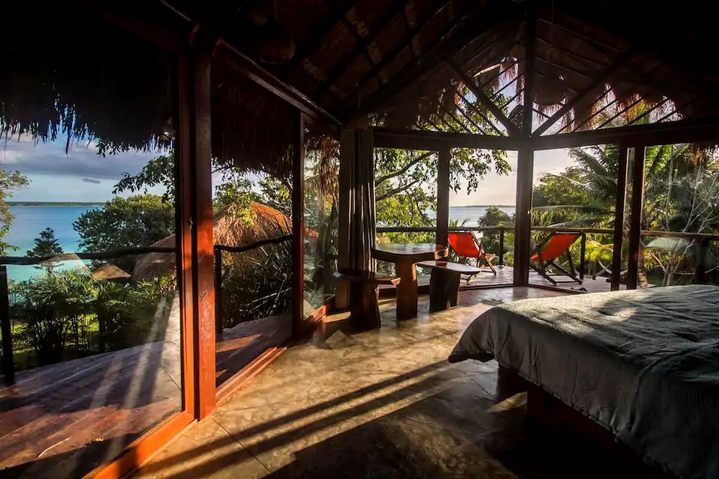 This Bacalar accommodation is perfect for romantic getaways in Mexico