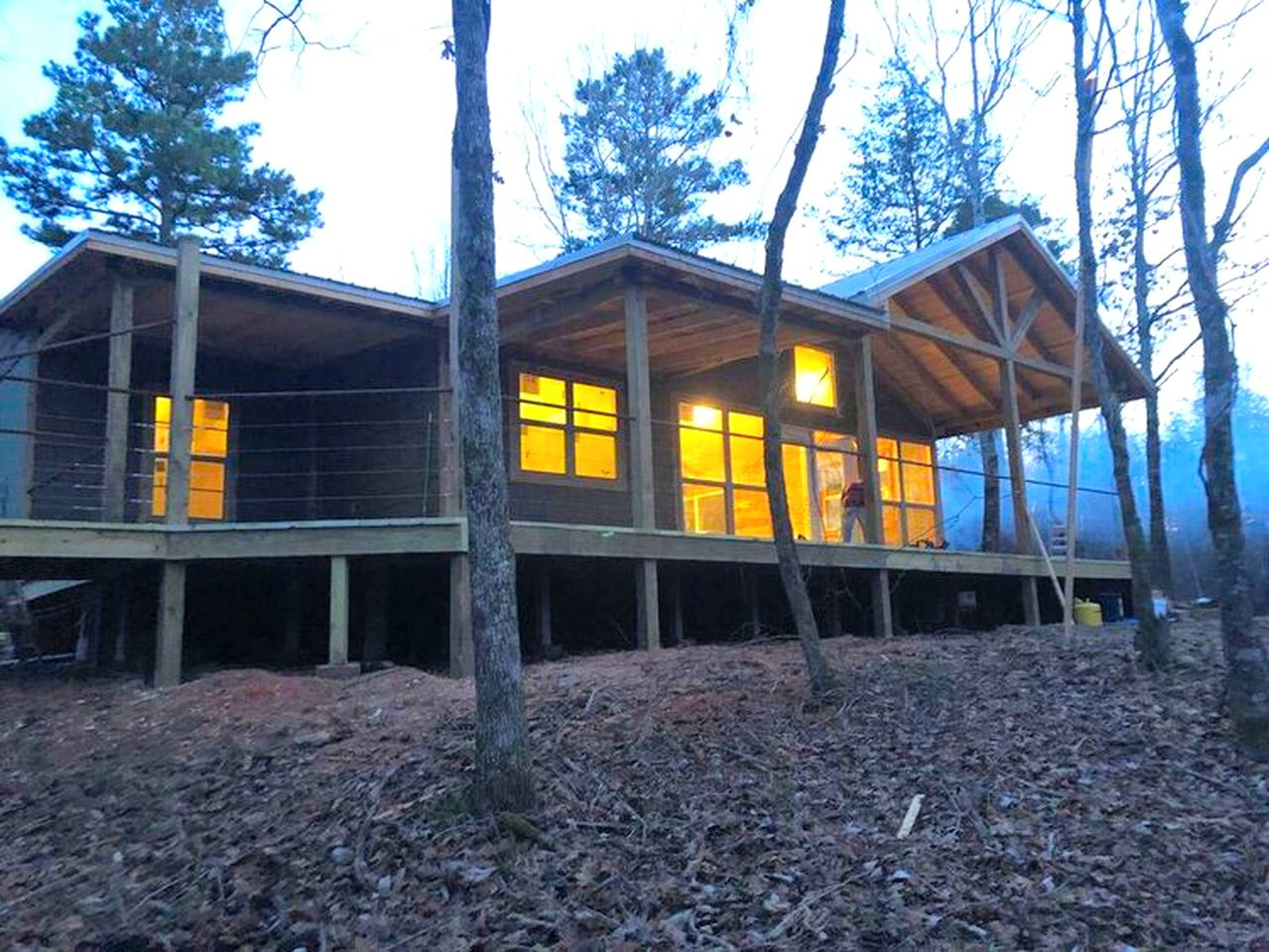 Amazing cabin rental for weekend getaways in Oklahoma