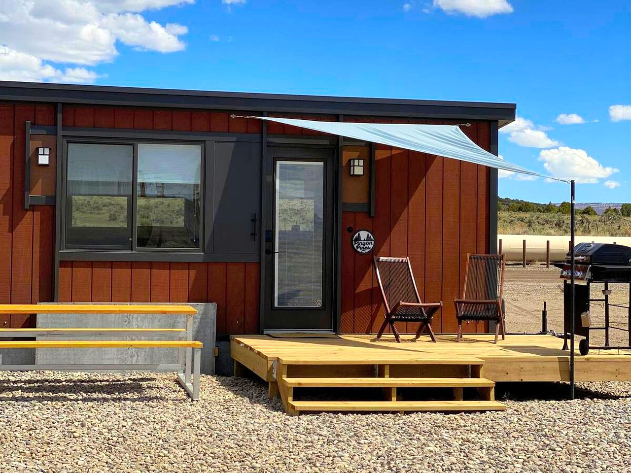 Tiny house rental that's perfect for a weekend getaway in Colorado