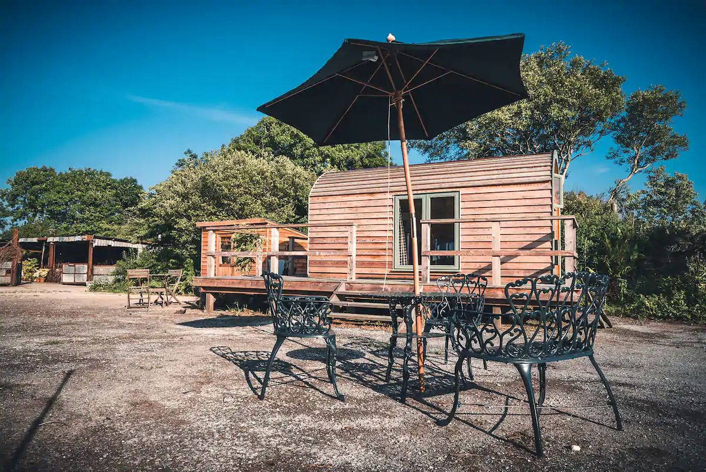 This retreat is perfect for glamping in Pembrokeshire