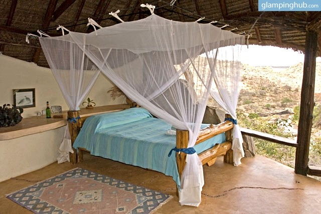 Remote Glamping Lodge in the Rift Valley, Kenya