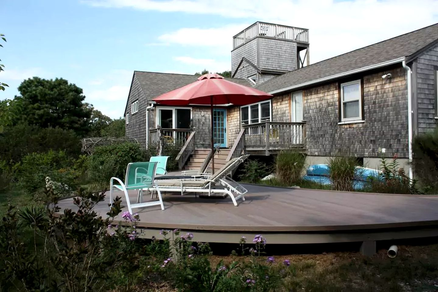 Cabin rental with private beach, Cape Cod family getaways