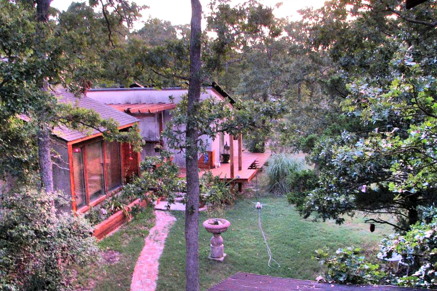 College Station camping cabin for a getaway to Texas