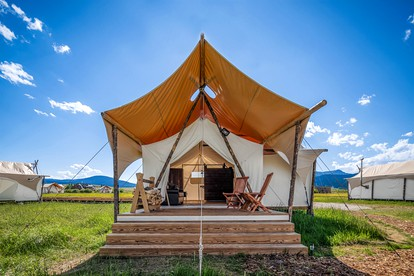 Luxury Camping in West Yellowstone   Glamping Hub