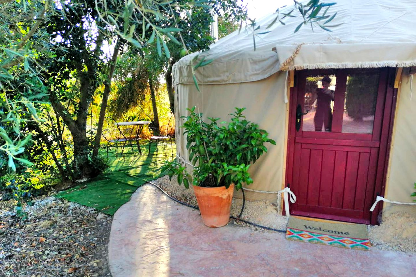 Yurts (Cadiz, Andalusia, Spain)