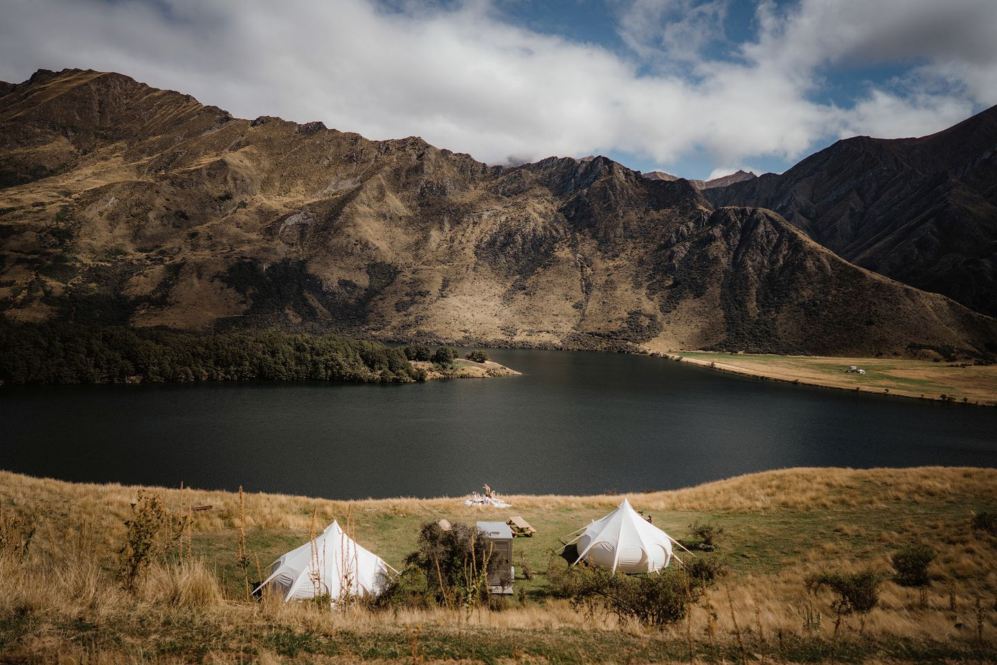 Bell Tents (Moke Lake, South Island, New Zealand)
