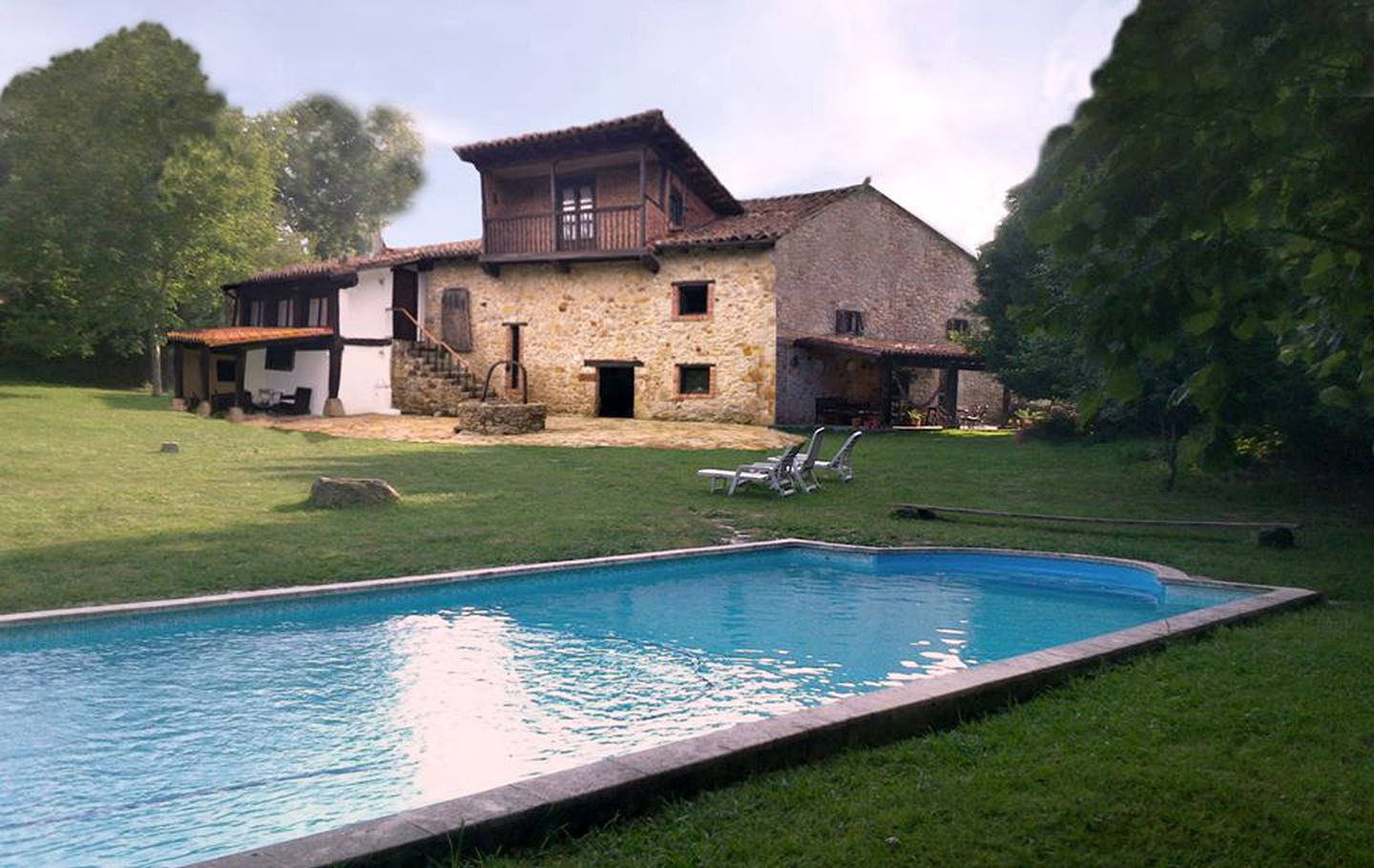 This Liérganes retreat is ideal for holidays in Cantabria