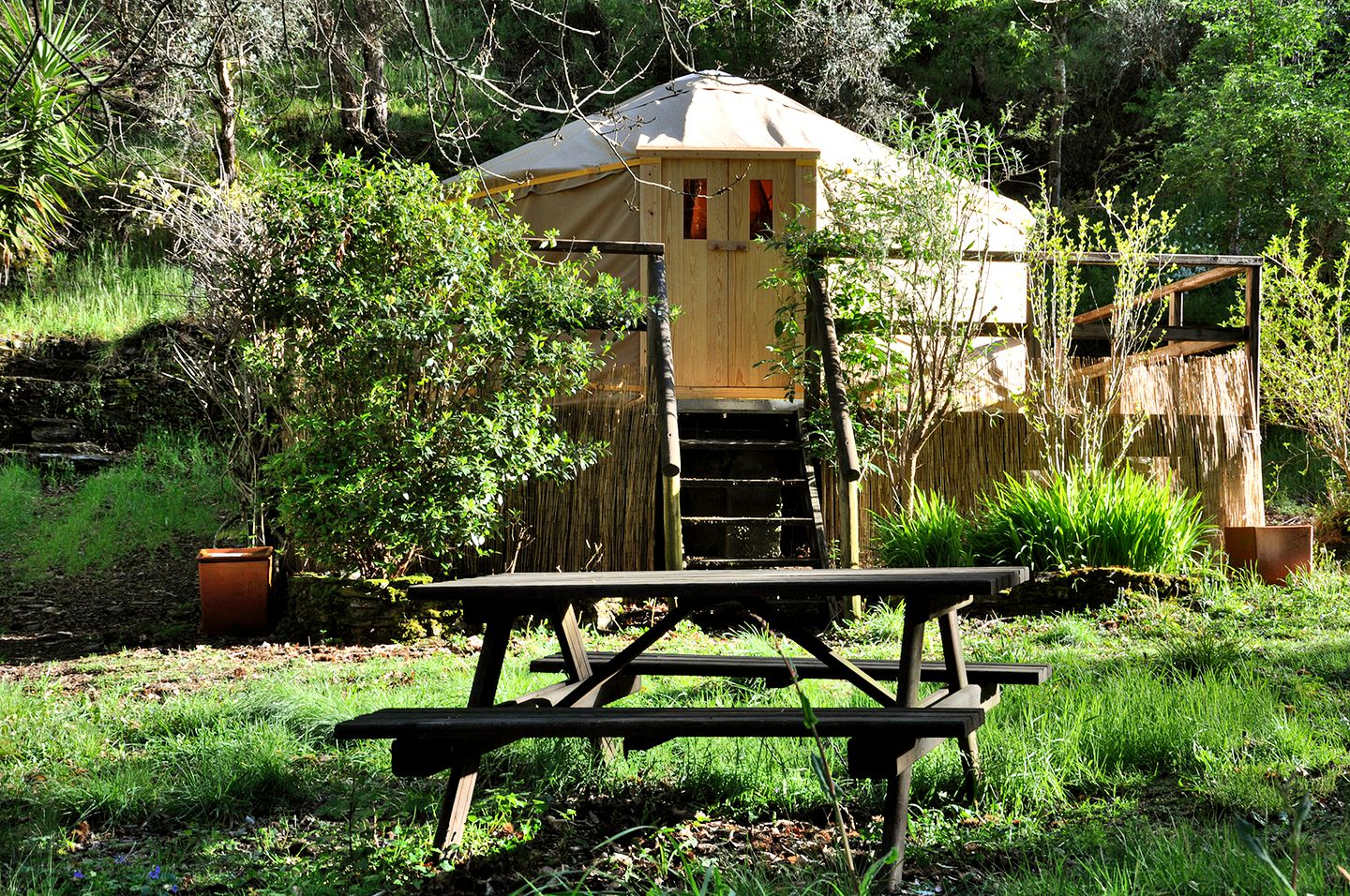 This Coimbra accommodation is ideal for glamping in Portugal
