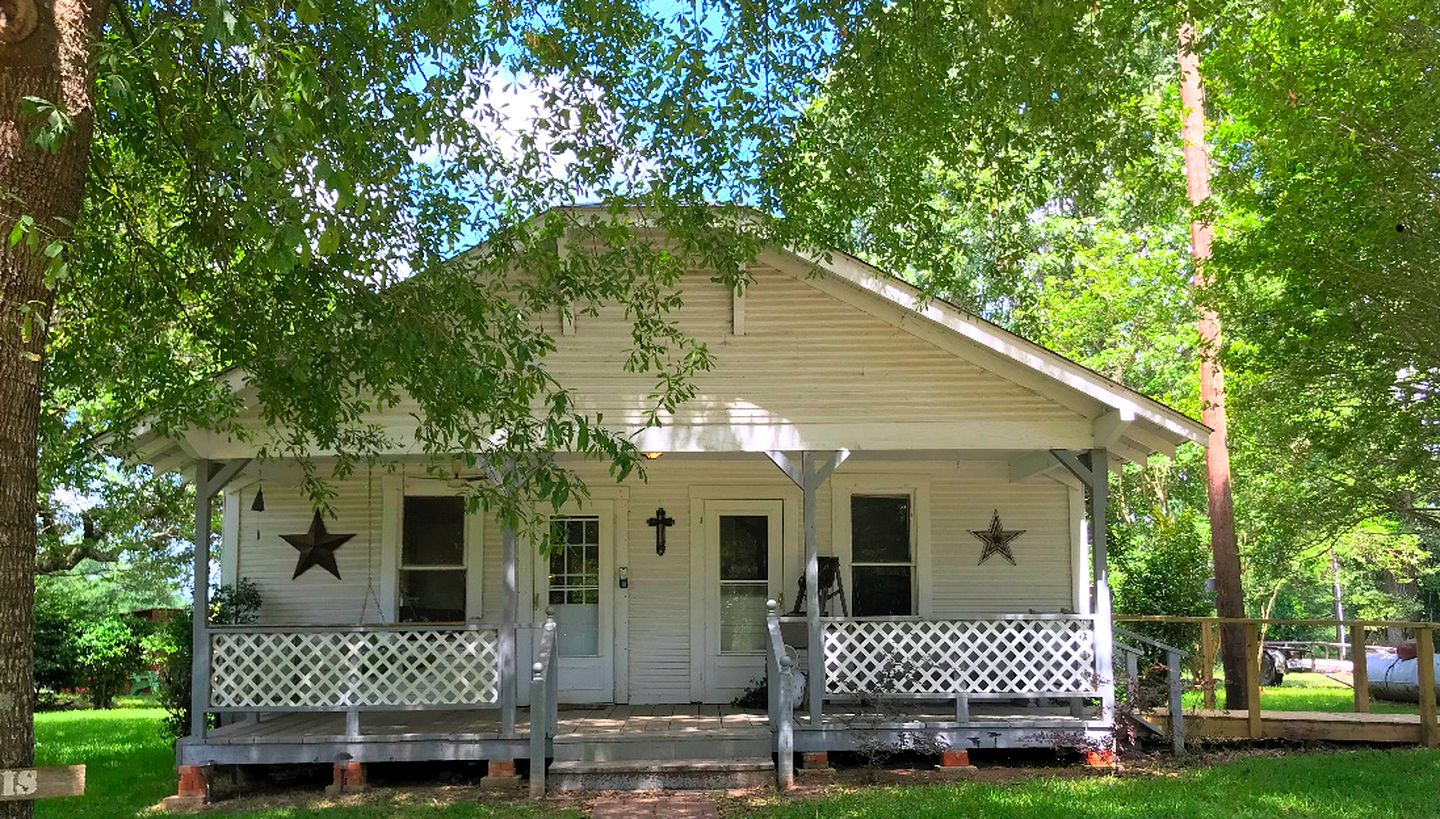 Lovely cabin rental that's perfect for family getaways in Texas