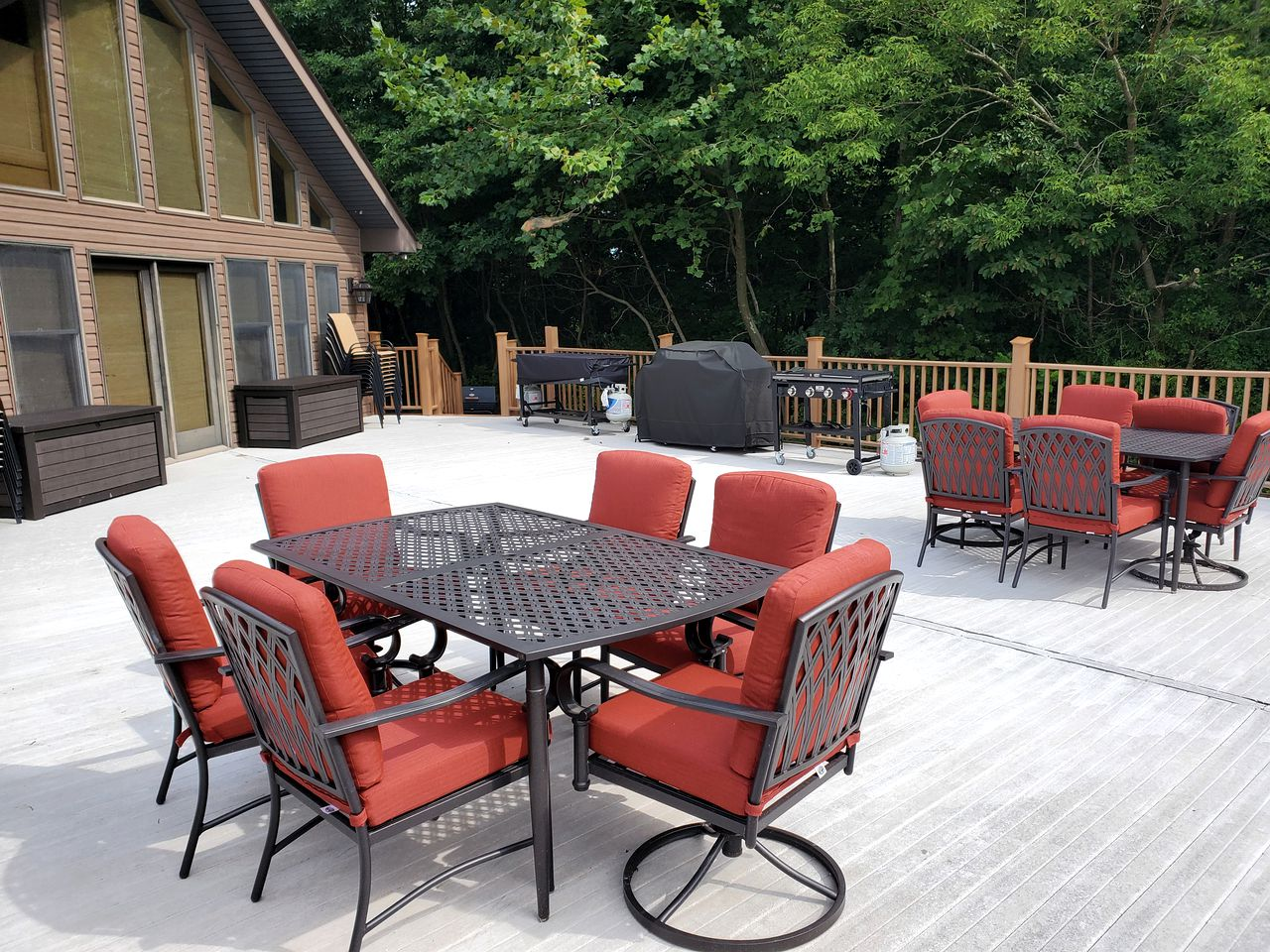This Hocking Hills accommodation is ideal for family getaways in Ohio