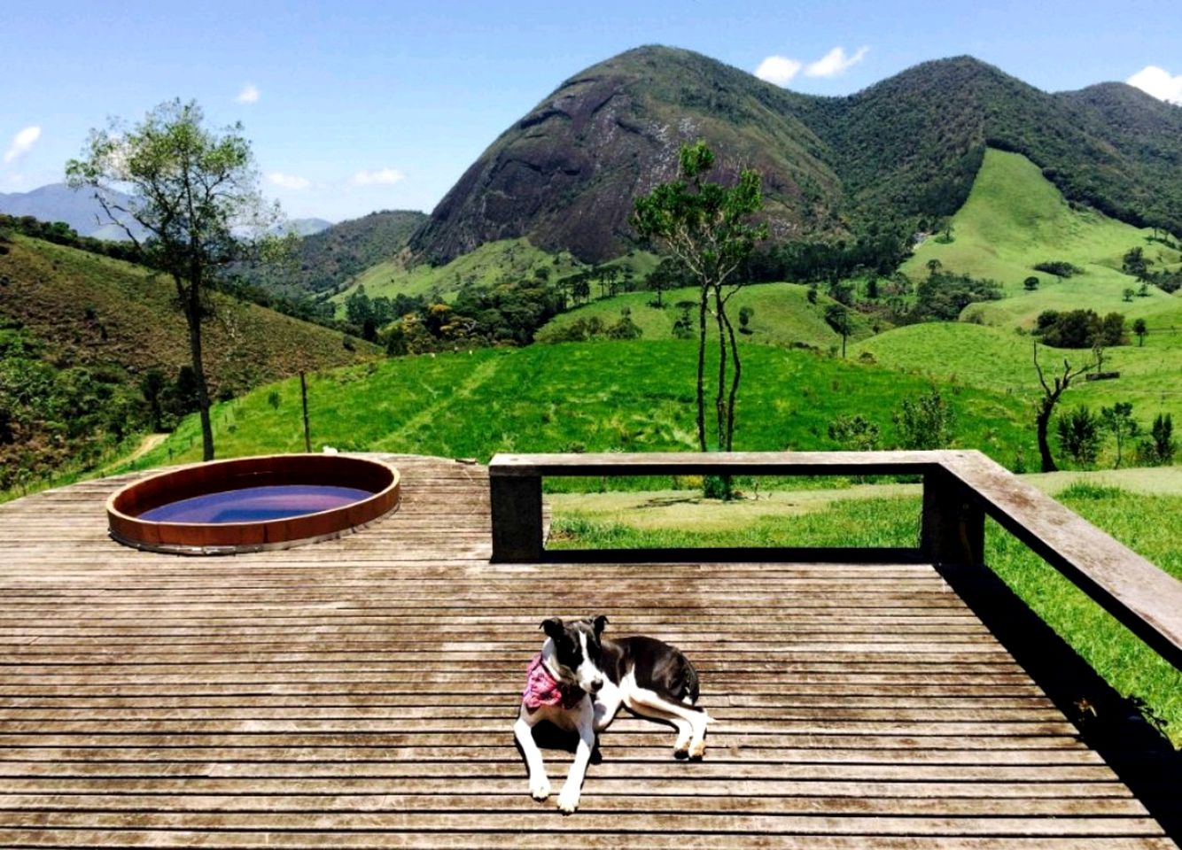 This peaceful Brazil vacation rental is a fabulous choice for lovers of the outdoors.