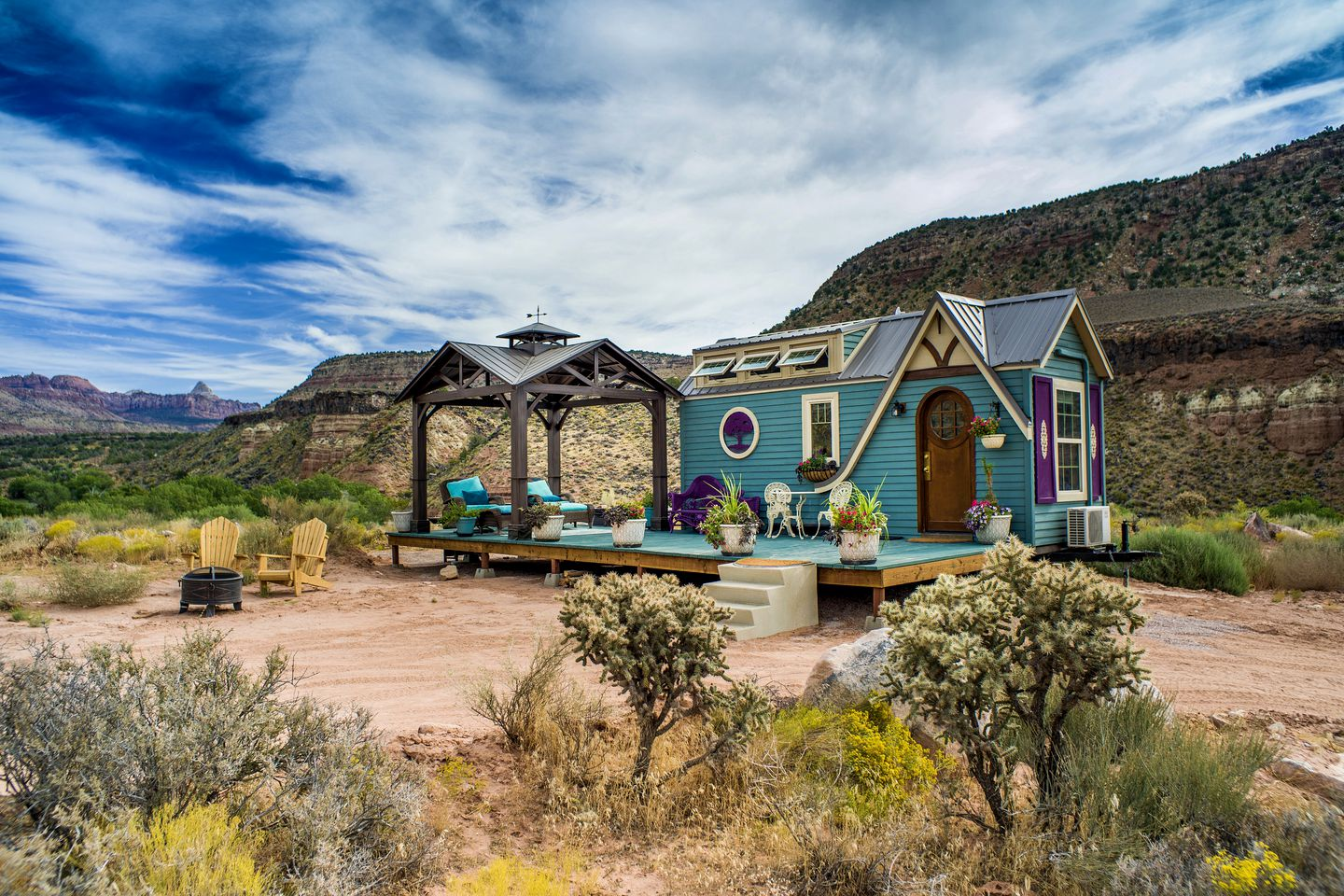 This tiny house is the ultimate choice for Zion National Park getaways