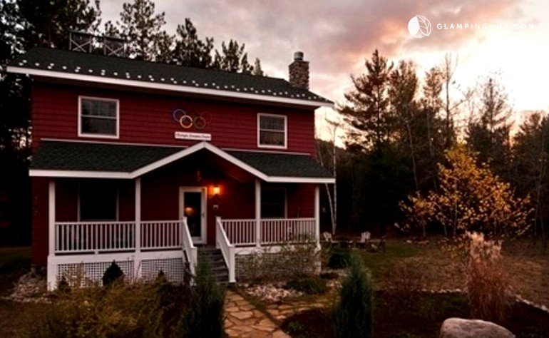 Luxury cabin near whiteface mountain new york for Wilmington ny cabin rentals
