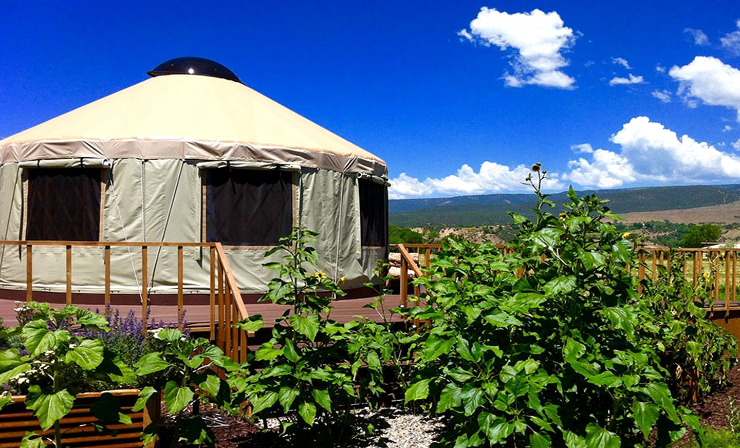 Yurts (Paonia, Colorado, United States)