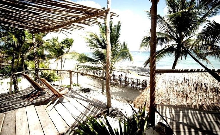Cottages In Mexico Tulum Beachfront Cottages Beach Cabanas Tulum
