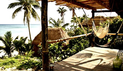 Luxury Beach Bungalows In Mexico