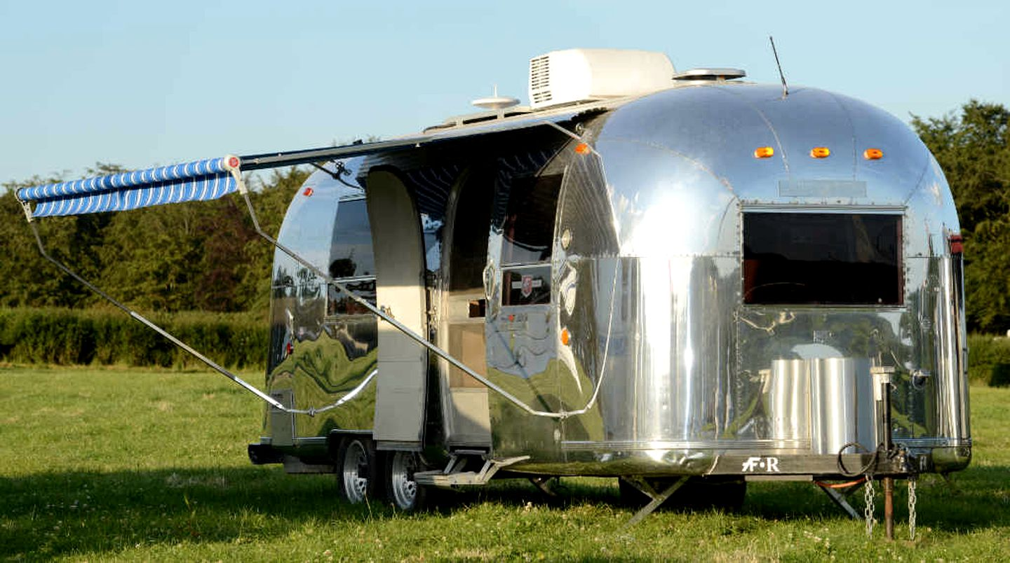 Airstreams (Herefordshire, England, United Kingdom): The best romantic camping in the UK